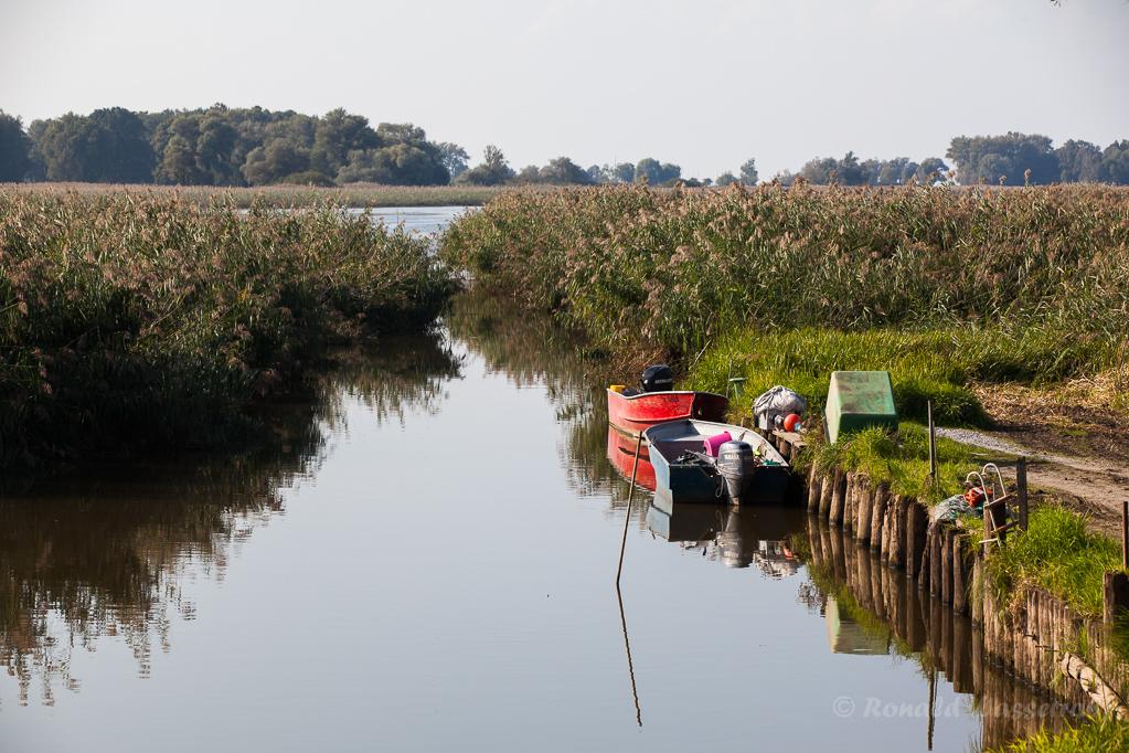 Boote an der Fußacher Bucht