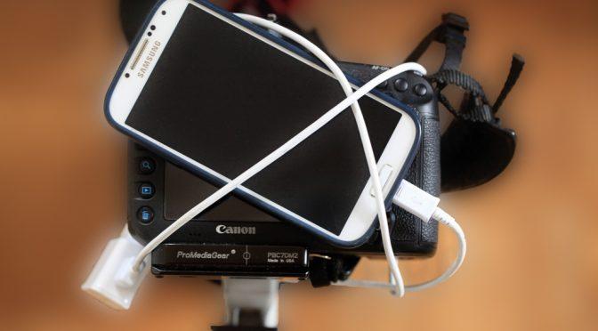 Canon mit Smartphone verbinden