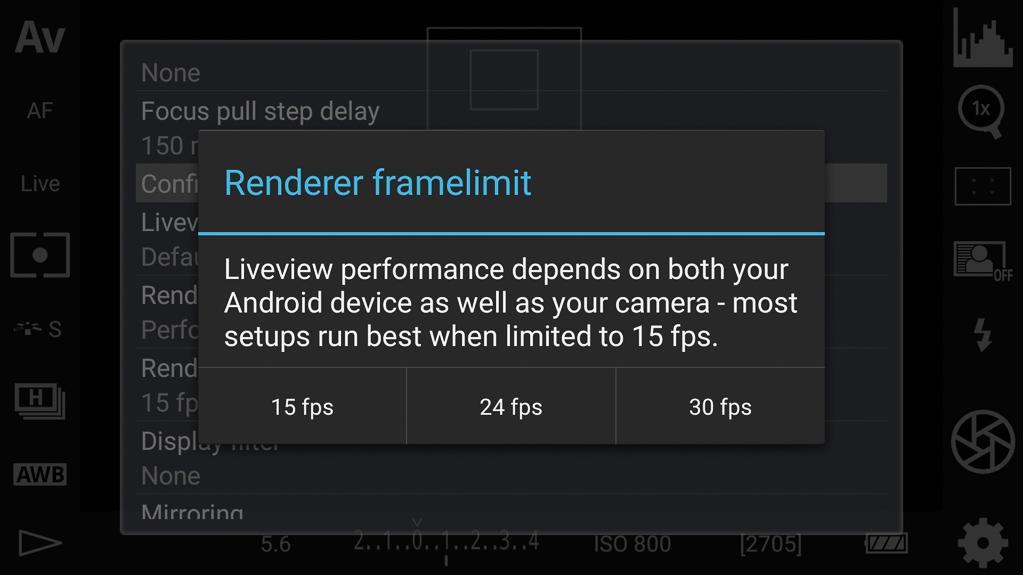 DSLR-Controller Anleitung - Bestimmung der Bildanzahl (Frames) beim Rendering