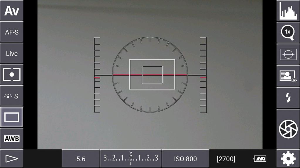DSLR-Controller Bedienungsanleitung - Künstlicher Horizont
