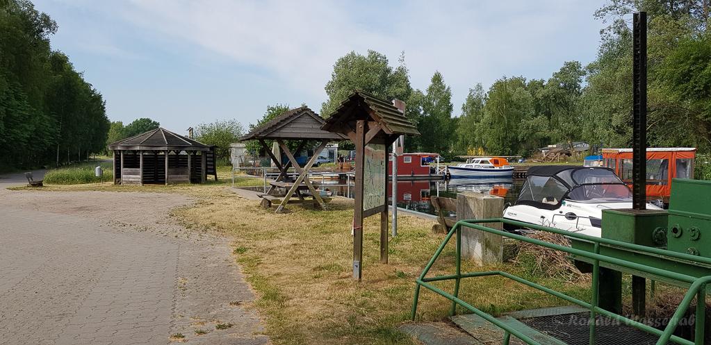 Hafen an den Linumer Teichen