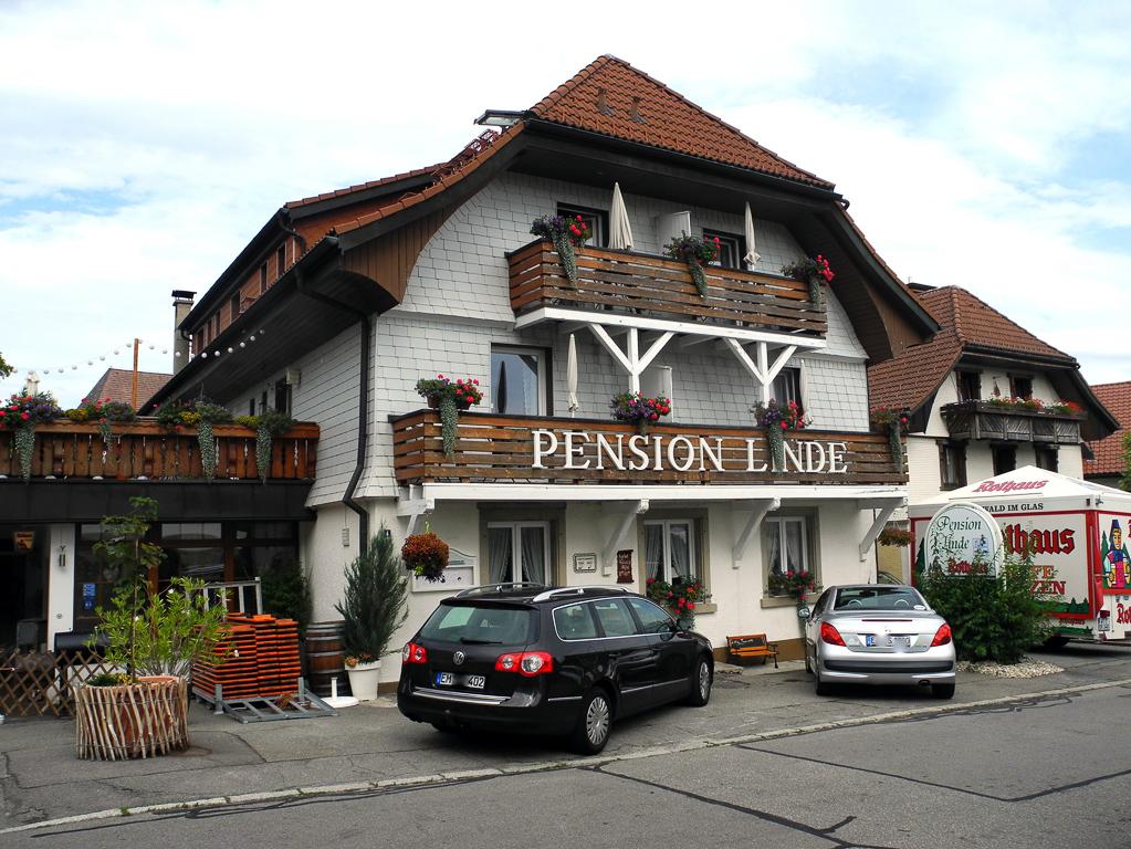 Pension Linde in Höchenschwand (Foto: Heinz-Dieter Hannes)