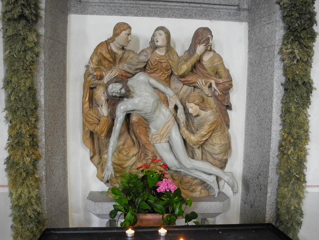 Historische Pietà in St. Michael (Foto: Heinz-Dieter Hannes)