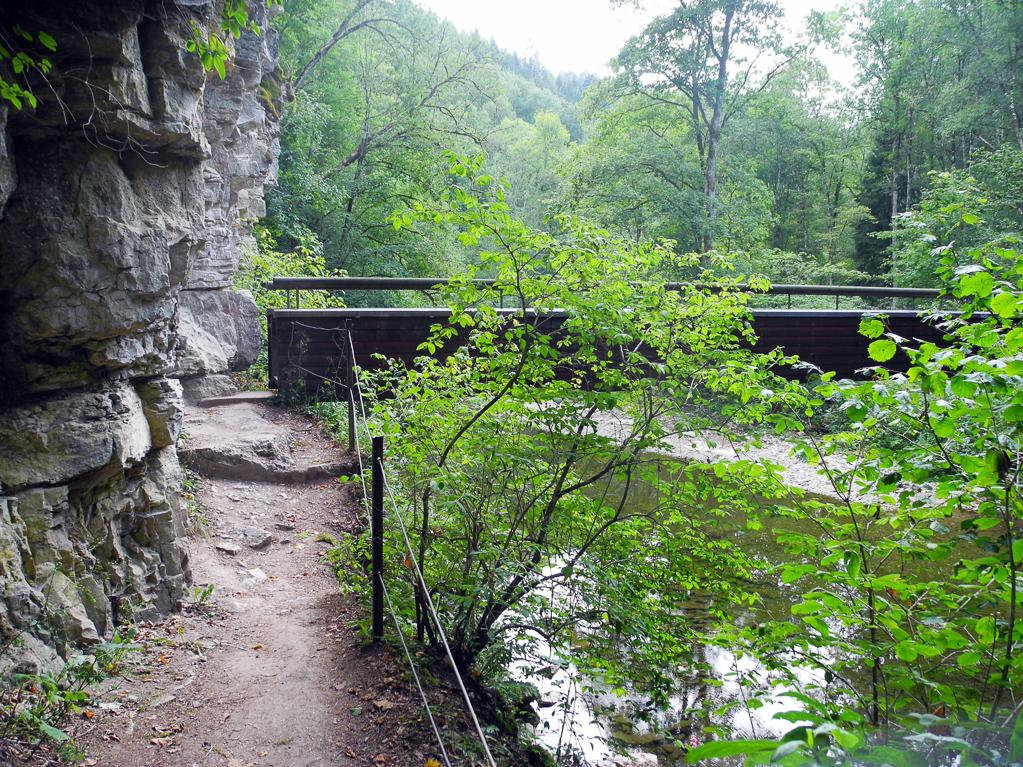 Brücke über die Wutach (Foto: Heinz-Dieter Hannes)
