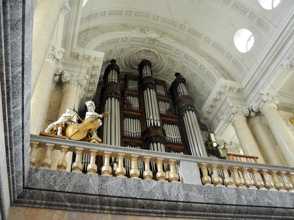 Im Dom zu St. Blasien (Foto: Heinz-Dieter Hannes)