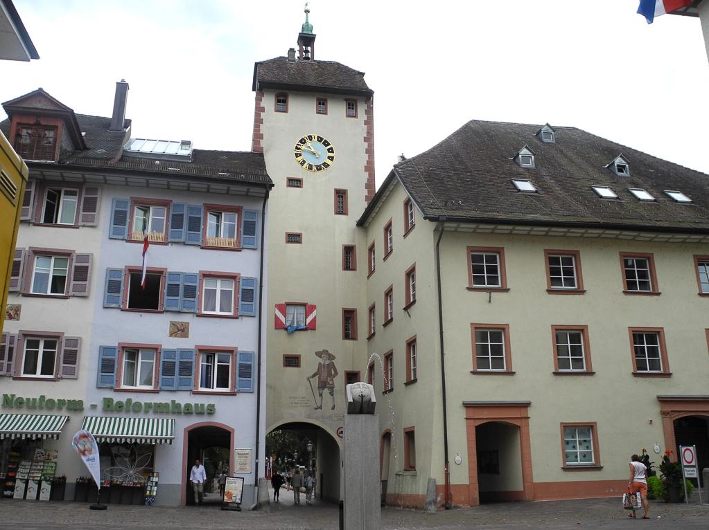 Stadttor in Waldshut (Foto: Heinz-Dieter Hannes)