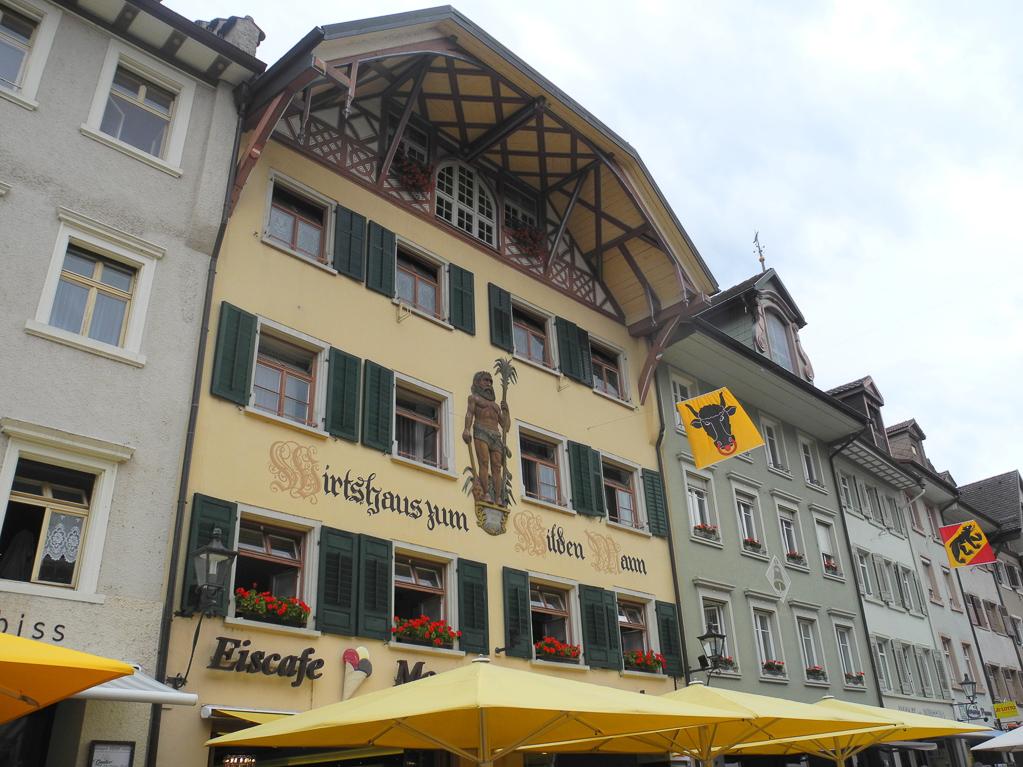 """Historisches Gasthaus """"Zum Wilden Mann"""" (Foto: Heinz-Dieter Hannes)"""