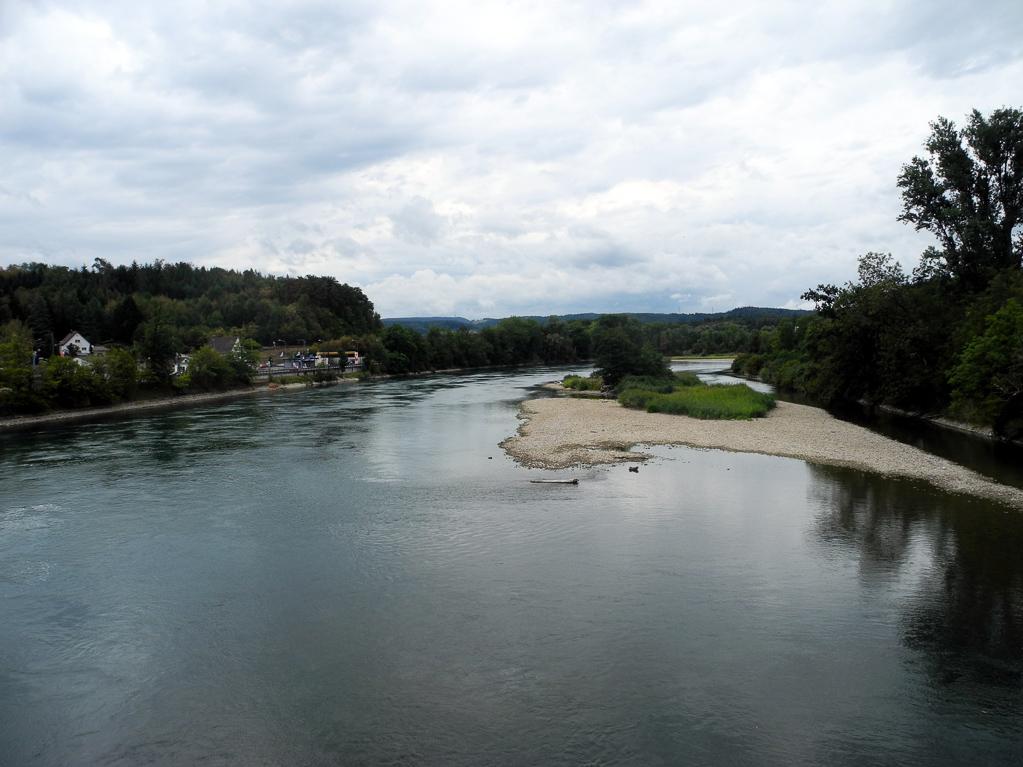 Am Hochrhein bei Waldshut (Foto: Heinz-Dieter Hannes)