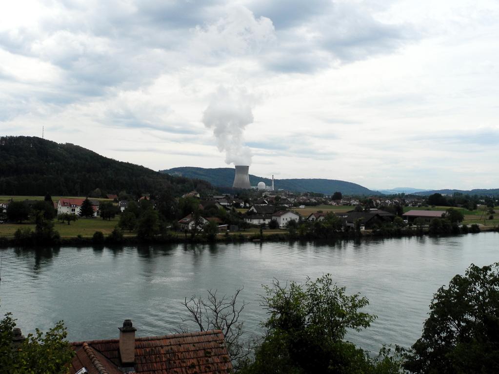 Atomkraftwerk Beznau/Schweiz (Foto: Heinz-Dieter Hannes)