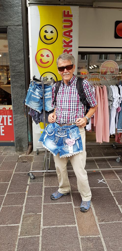 Outfit für die heißen Tage