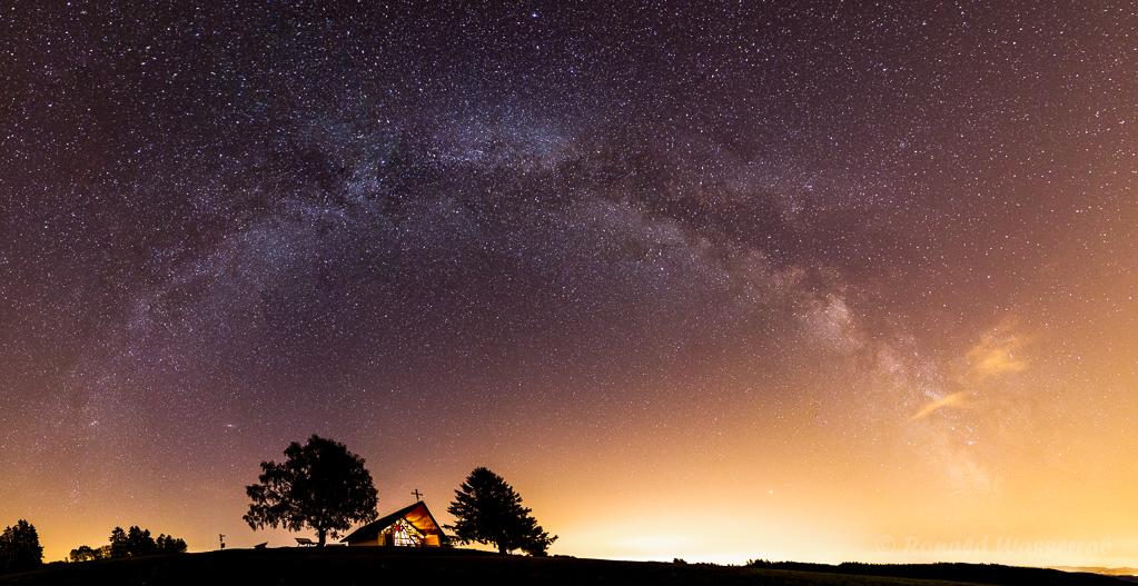 Marienkapelle unterm Milchstraßenbogen