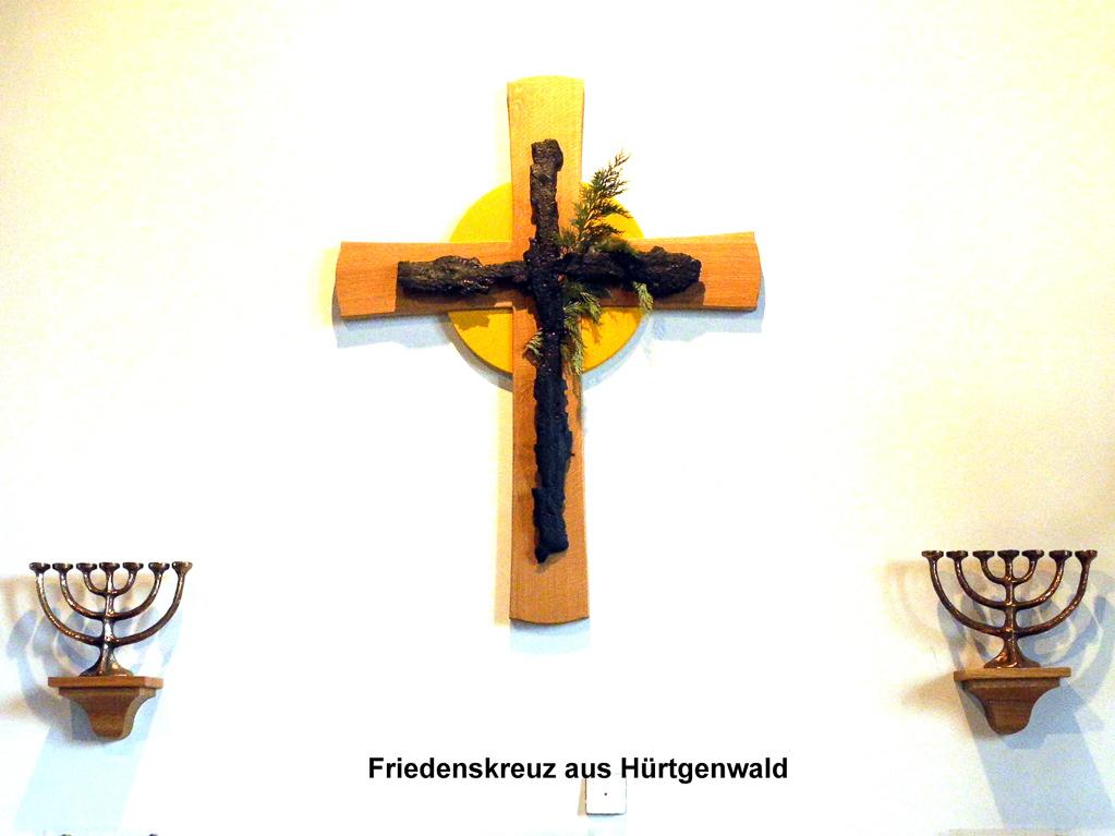 Hürtgenwalder Splitterkreuz (Foto: Heinz-Dieter Hannes)