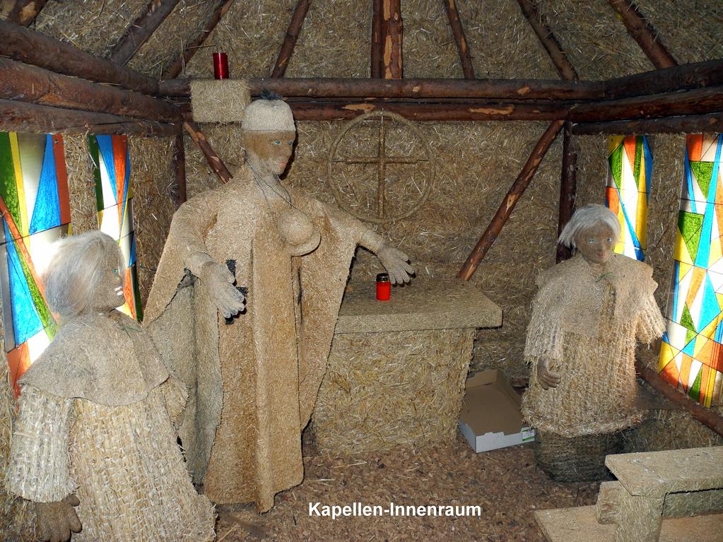 In der Strittberger Kapelle (Foto: Heinz-Dieter Hannes)