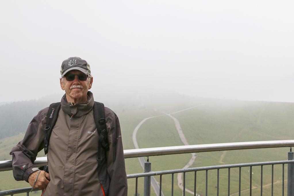 Auf dem Feldbergturm (Foto: Peter Schmitz)