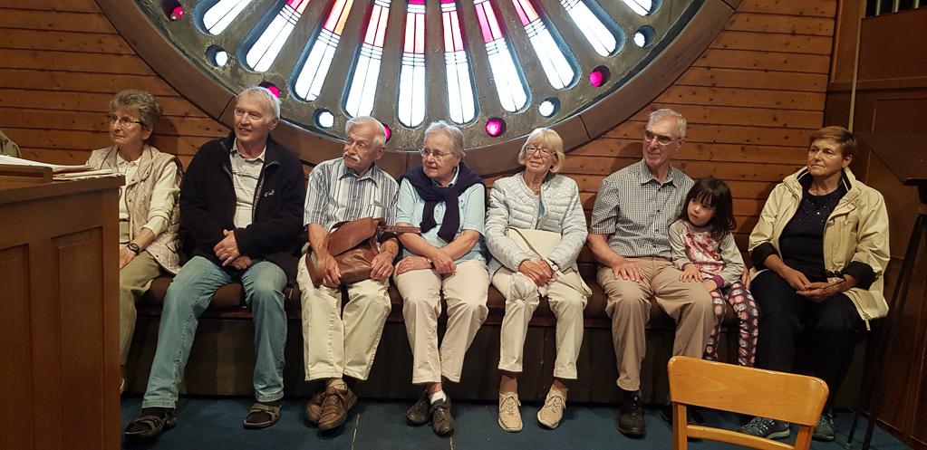 Zuhörer auf der Orgelbühne