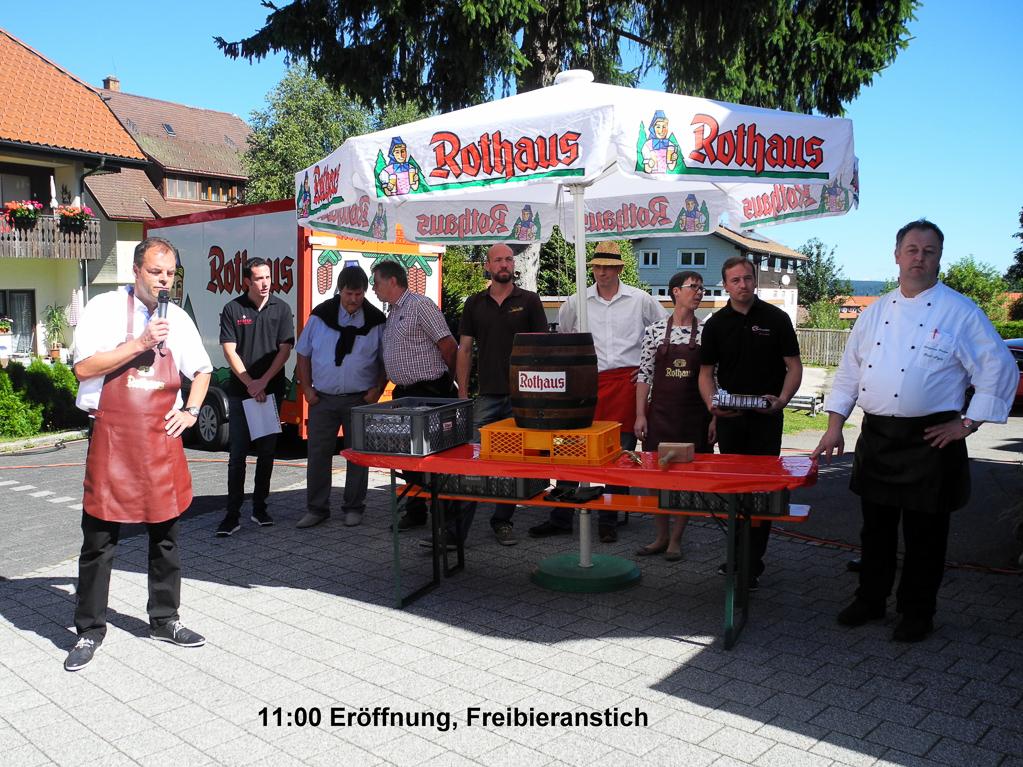 Fassanstich (Foto: Heinz-Dieter Hannes)