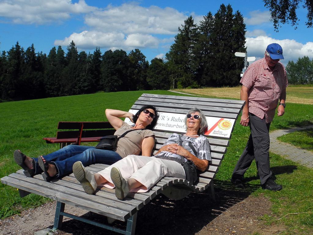 Relaxen in Höchenschwand (Foto: Heinz-Dieter Hannes)