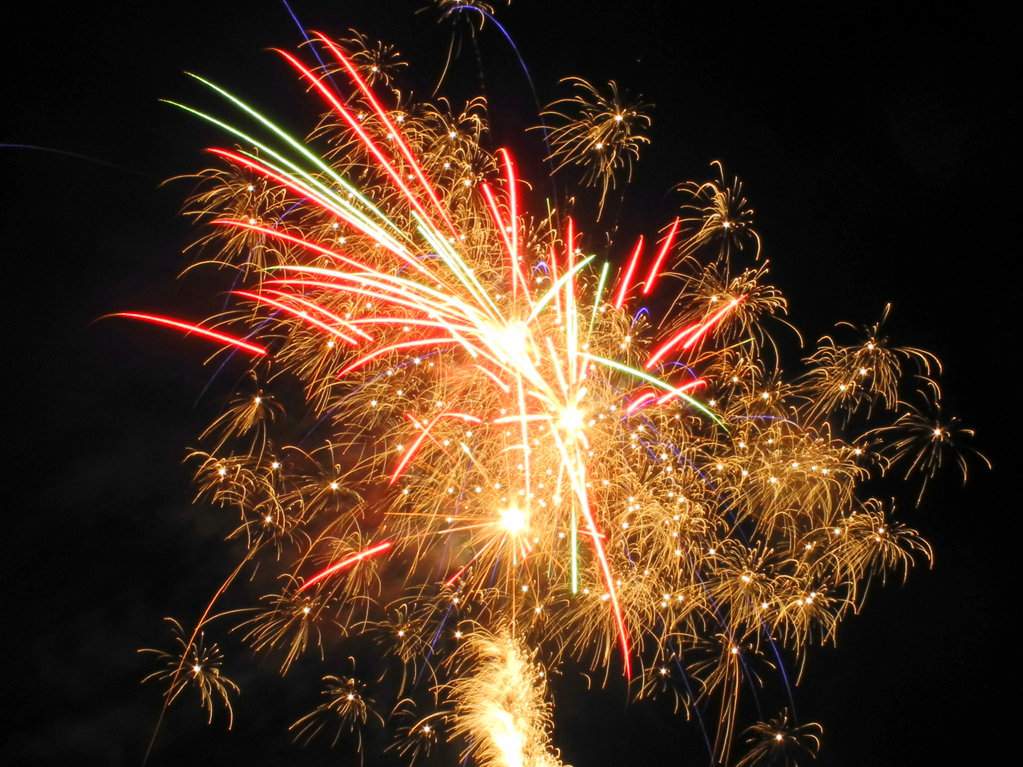 Feuerwerk (Foto: Heinz-Dieter Hannes)