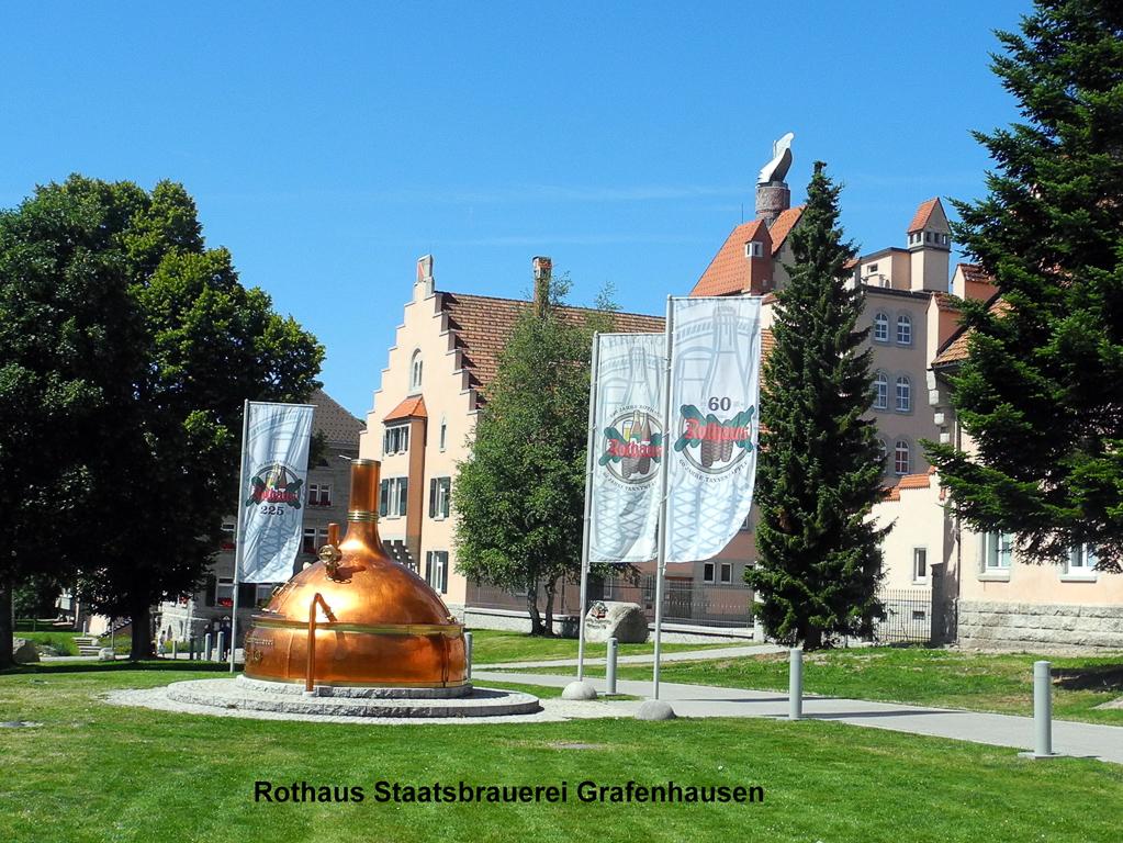 Badische Staatsbrauerei Rothaus (Foto: Heinz-Dieter Hannes)