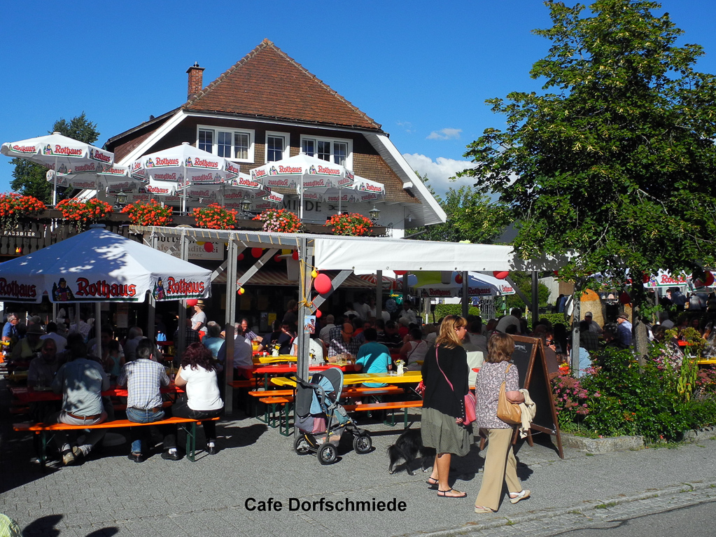 Café Dorfschmiede (Foto: Heinz-Dieter Hannes)
