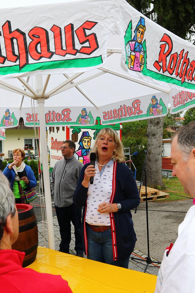 Eva Jenzen-Georgii vetritt heute den Bürgermeister