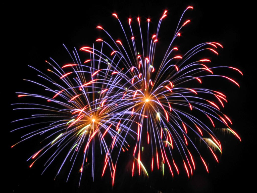 Feuerwerk auf der Schlemmermeile (Foto: Heinz-Dieter Hannes)