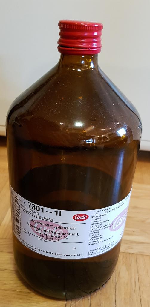 85%iges pflanzliches Glyzerin