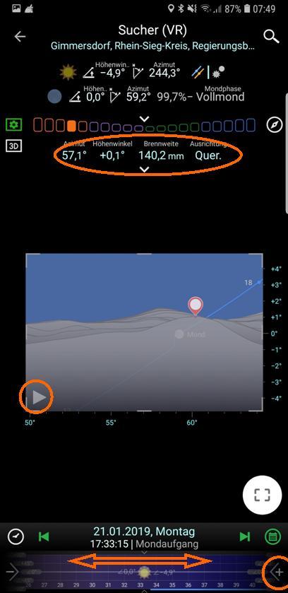 PlanIt! Virtueller Sucher / Simulation
