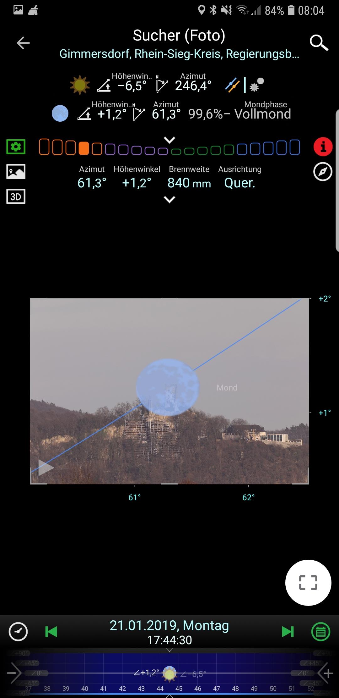 PlanIt! Virtueller Sucher mit Foto