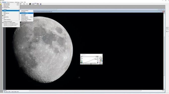 Fitswork – Hochauflösende Mondfotos erstellen