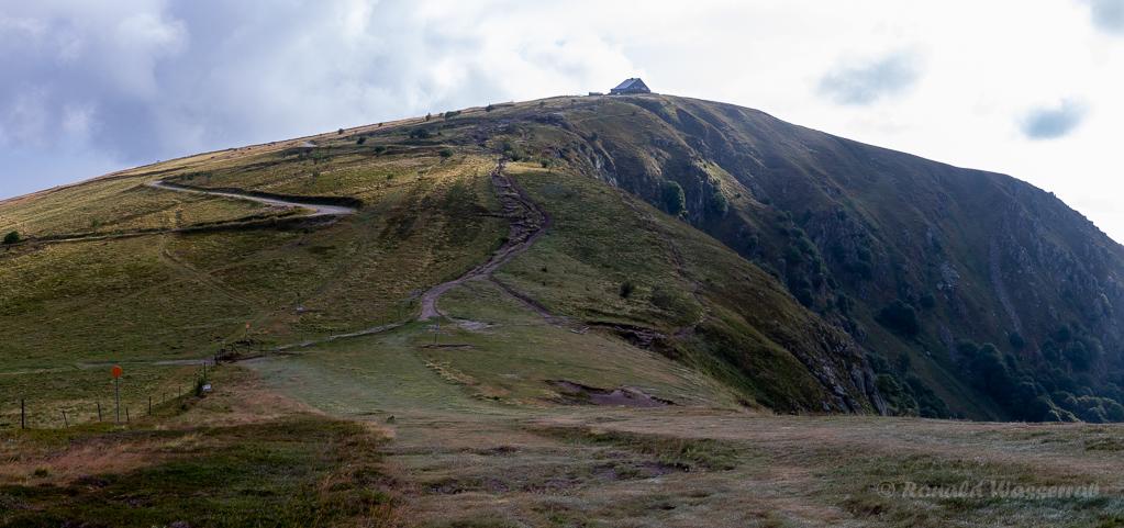 Weg zum Hohneck-Gipfel