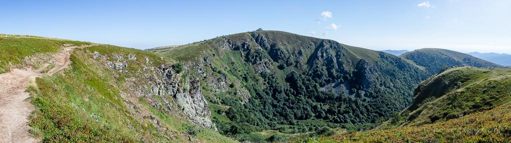 Südseite des Hohneck-Massivs