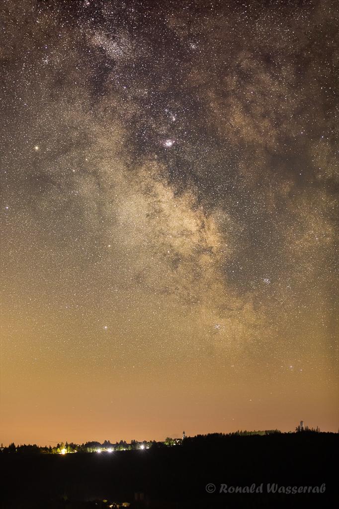 Milchstraßenzentrum über Höchenschwand
