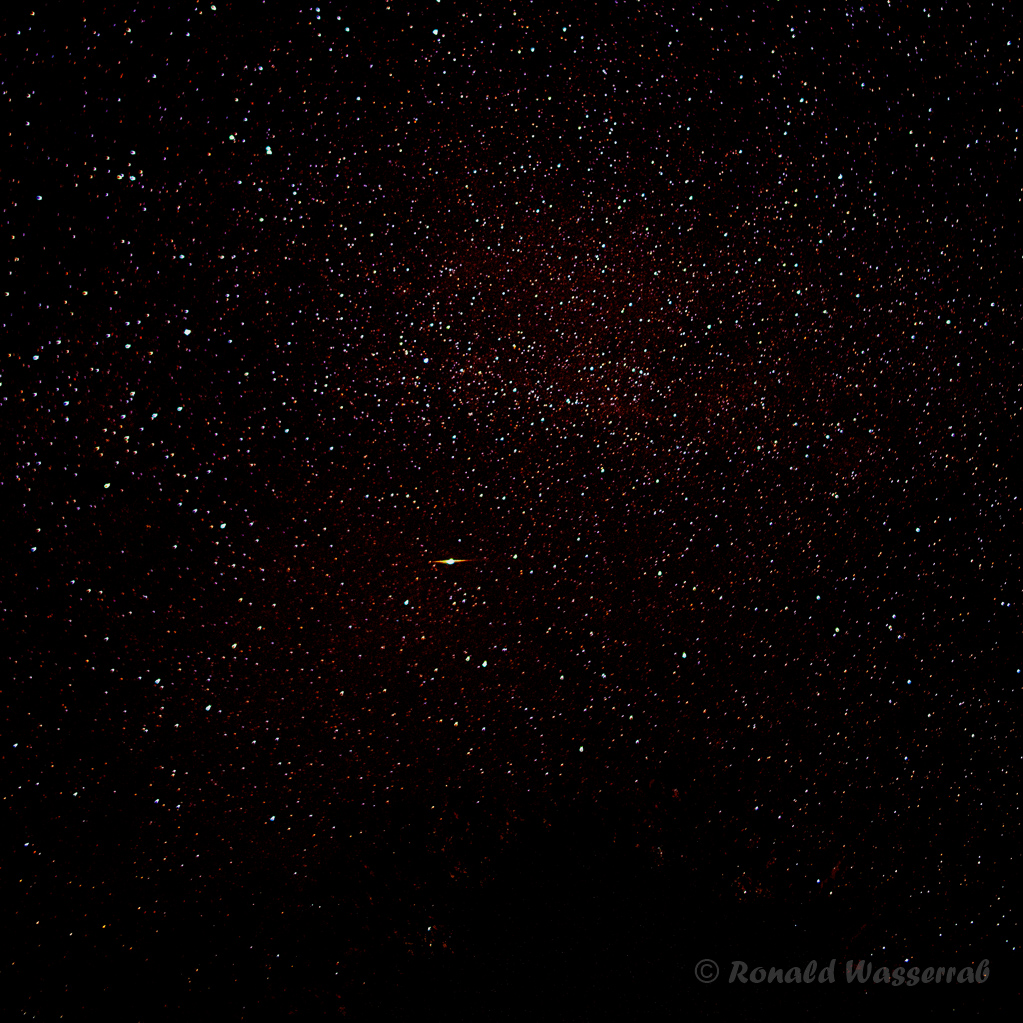 Iridium-Flare - Astrofotografie