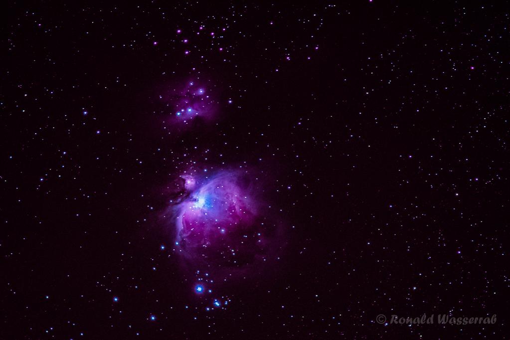 Orion-Nebel (M 42 / NGC 1976) - Astrofotografie