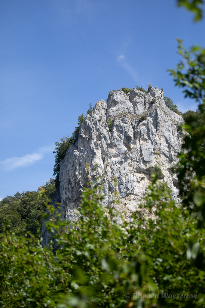 Grillenjäger - Felsen im Donautal bei Beuron
