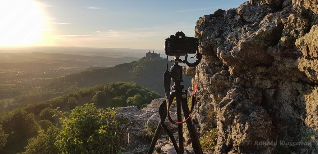 Kameraaufbau am Zellerhorn