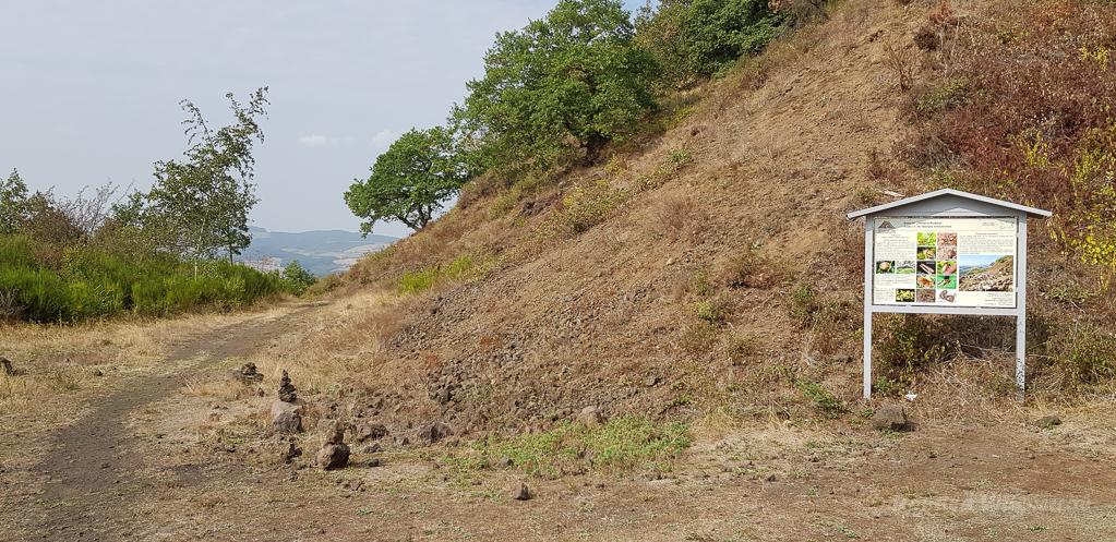 Auf dem Vulkan in der Vulkaneifel