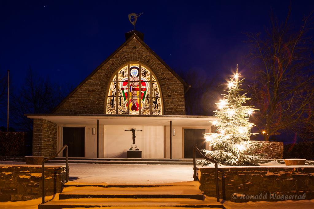 Die Kapelle im Ortsteil Kleinhau