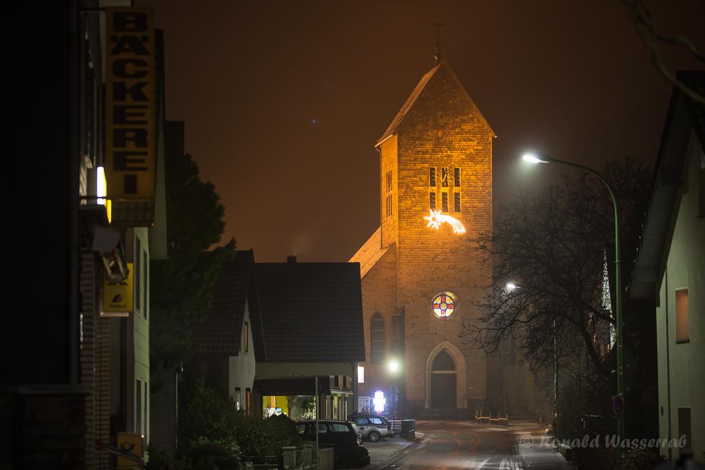 Die Kirche in Vossenack