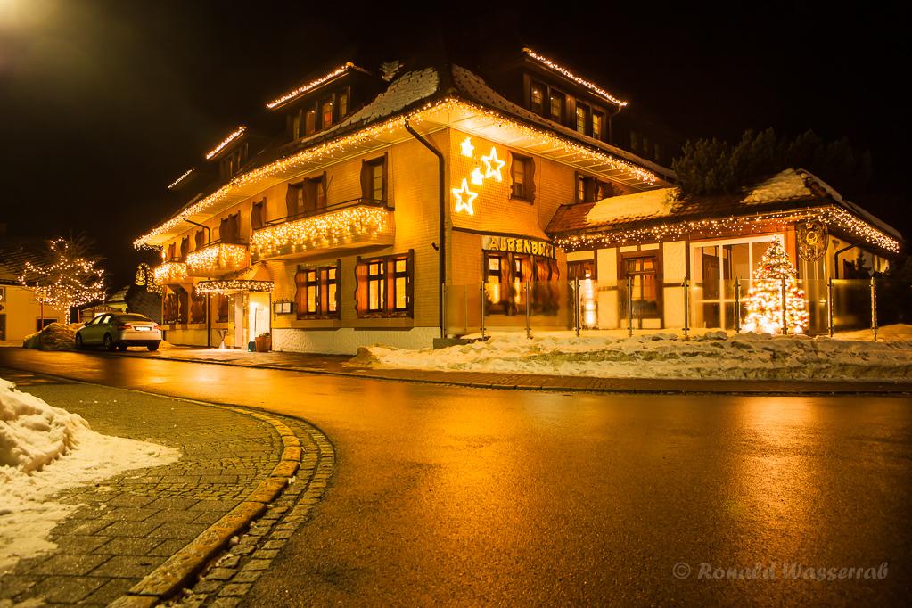 Weihnachtliche Impressionen - Das Hotel Alpenblick