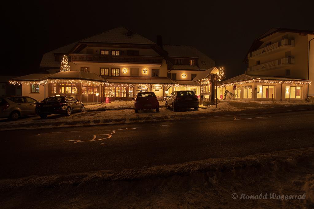 Weihnachtliche Impressionen - Das Hotel Nägele