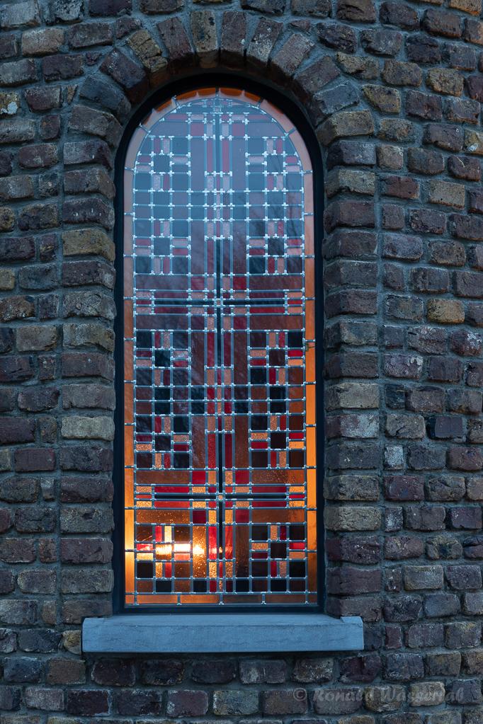 Fenster der Hubertuskapelle