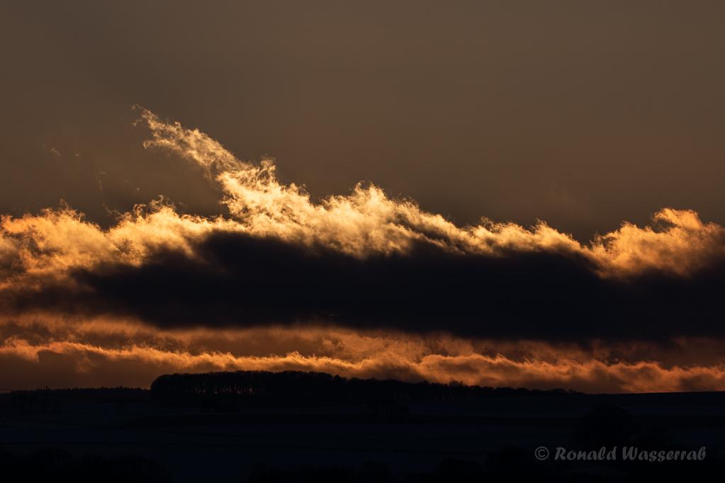 Sonnenuntergang an der Kapelle