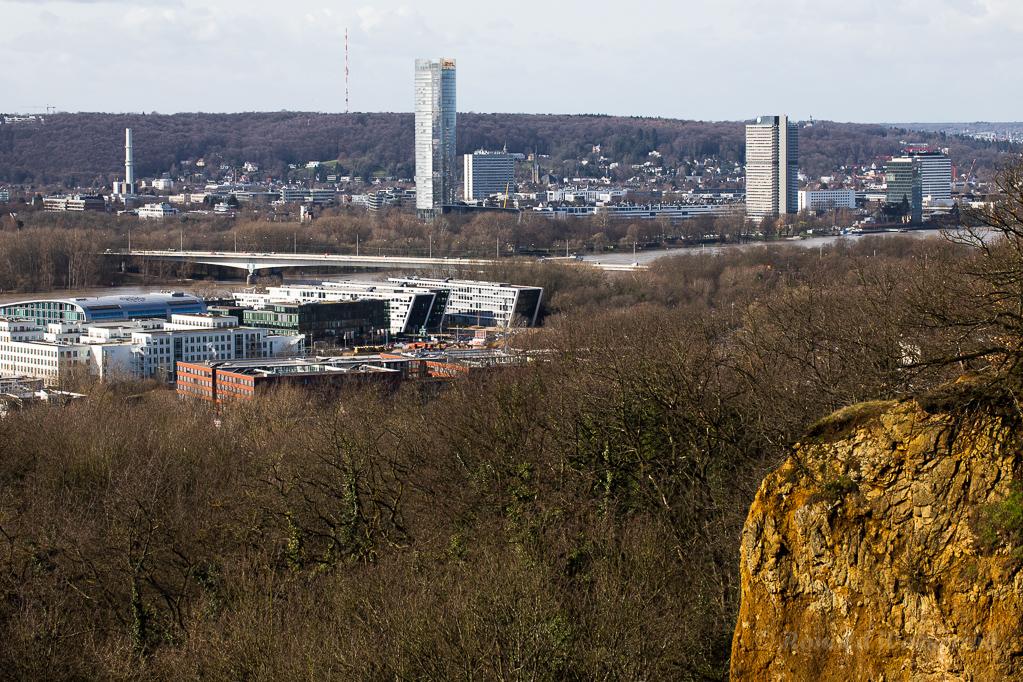 Bonn vom Dornheckensee aus