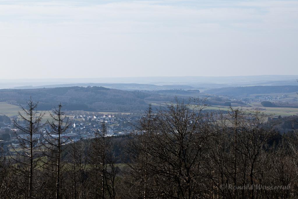 """Aussicht vom """"Blausterne-Vulkan"""""""