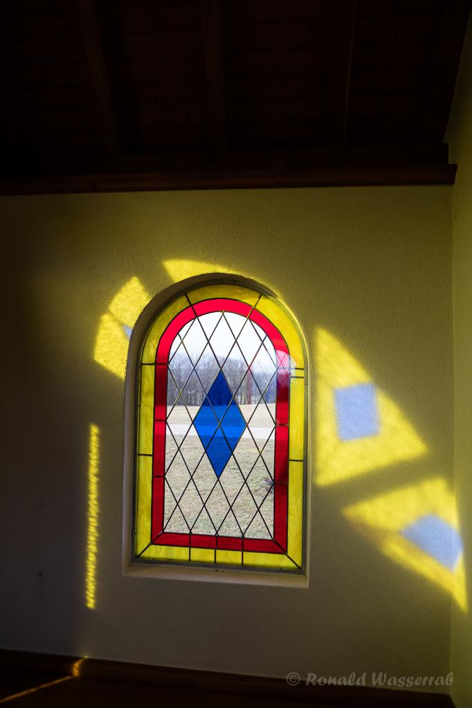 Lichtspiel in der Kottenborner Kapelle