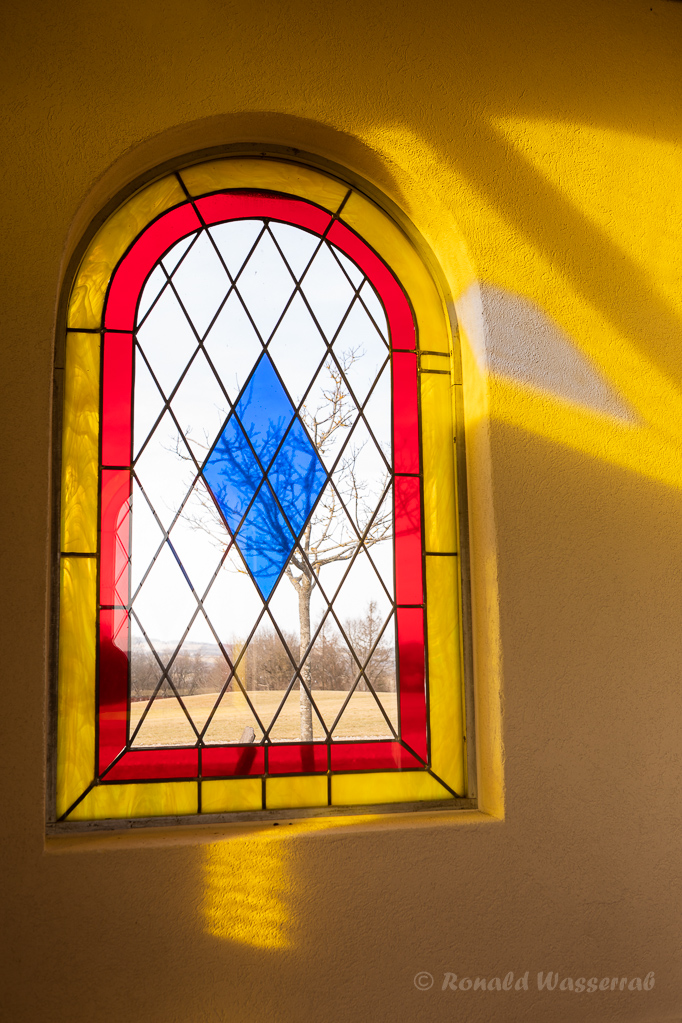 Lichtspiel in der Kapelle