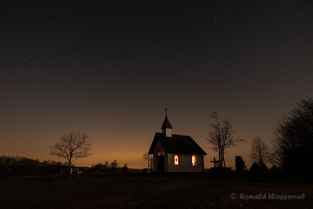 Nacht über dem Kapellchen