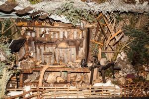Werkstatt in der Landschaftskrippe Höfen